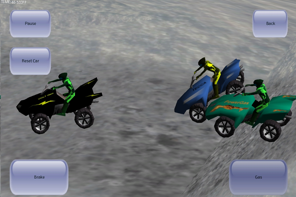 Screenshot 3D ATV Racer